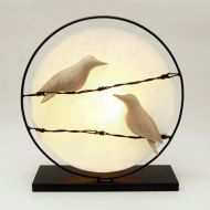 Indoor Decor - Birds on a Wire Lamp SALE