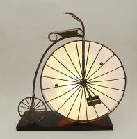 Indoor Decor - Penny Farthing Lamp