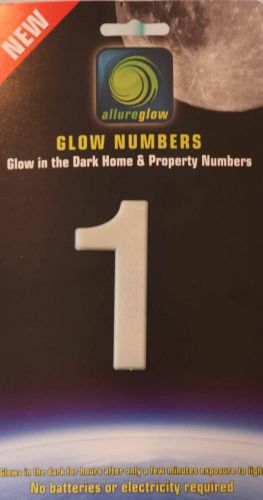 Glow in the dark house numbers.