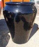 Glazed Palace Pot 830 x 1000 H mm - Black