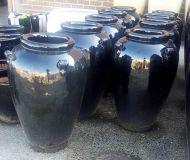 Economy Glazed Mini Temple Jar - 450 x 680H mm