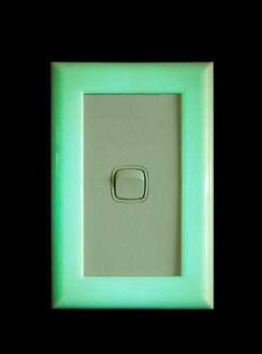 Glow in the dark light switch marker.