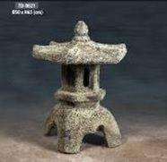 Ocean Rock Pagoda Lamp 500 x 650 H mm