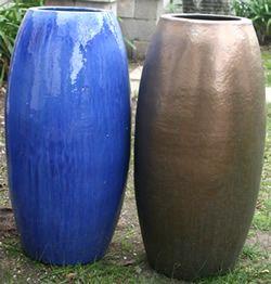 GLZ-18 Premium Glazed Rocket Pot (3 Sizes)