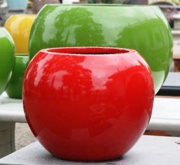 Lightweight UV Fibreglass BRIGHT COLOUR Outdoor Pots