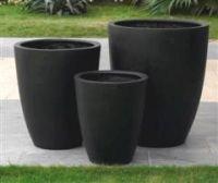 Premium Lightweight Terrazzo Tall Round Planter - 4 sizes