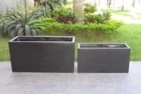 Premium Lightweight Terrazzo -Rectangle Divider Trough (1000 x 230 x 400 H mm)