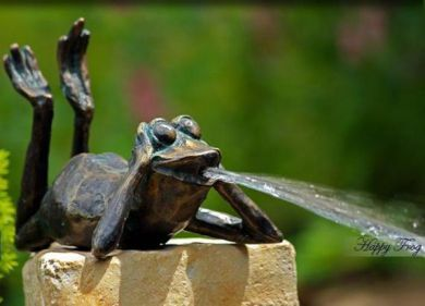 Small Bronze Fountain